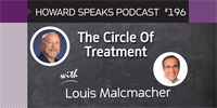 196 The Circle Of Treatment with Louis Malcmacher : Dentistry Uncensored with Howard Farran