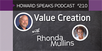 210 Value Creation with Rhonda Mullins : Dentistry Uncensored with Howard Farran