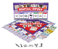 Dentalopoly, a new board game filled & injected with tongue in cheek biting dental humor!