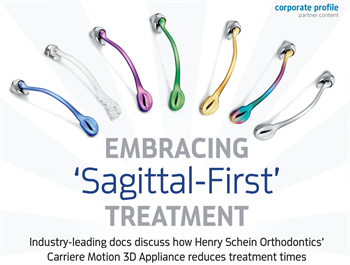 Corporate Profile: Embracing 'Sagittal-First' Treatment Drs. Luis Carrière and John Graham discuss Henry Schein Orthodontics' Carriere Motion 3D Appliance and its benefits.