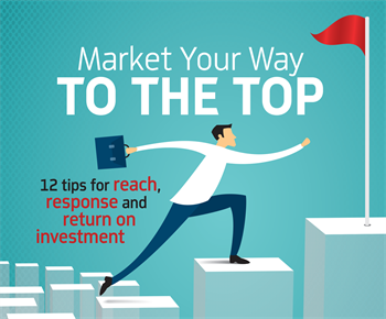 Market Your Way to the Top Orthotown board member Dr. Ann Marie Gorczyca shares 12 marketing tips that help orthodontists increase their reach, response and return on investment.