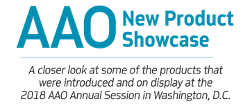 AAO New Product Showcase Orthotown recaps the new orthodontic products and services that made a splash at this year's American Association of Orthodontists annual session in Washington, D.C.
