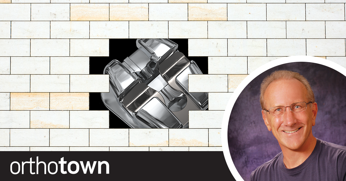 Embrace Progress: Don't Be Just Another Bracket in the Wall Orthotown Editorial Director Dr. Daniel Grob highlights the importance of taking CE, joining online groups and being open to new ideas.