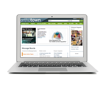 Orthotown.com Highlights Take a look at some of the most-discussed cases and topics that you can find on our website.
