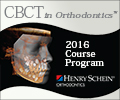 Henry Schein Orthodontics CBCT in Orthodontics:2016 Courses