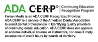 American Dental Association (ADA), Continuing Education Recognition Program (CERP) provider