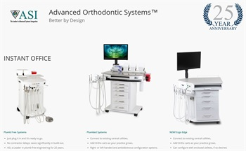 ASI Launches Dedicated Website for Orthodontic Carts